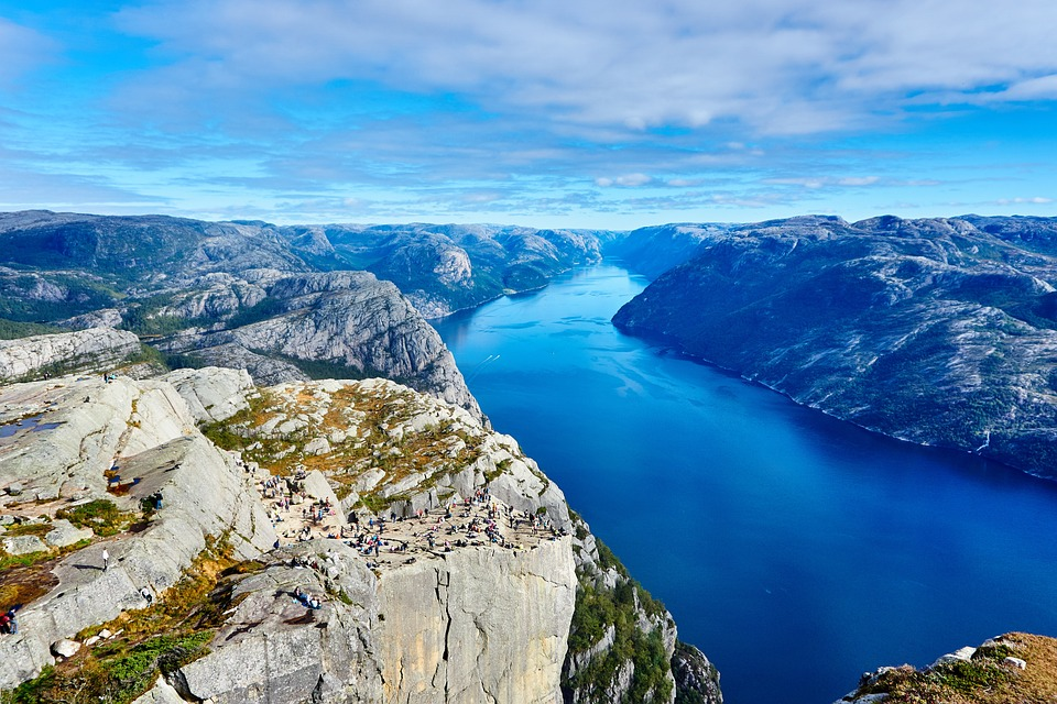 Norvegija lankytinos vietos