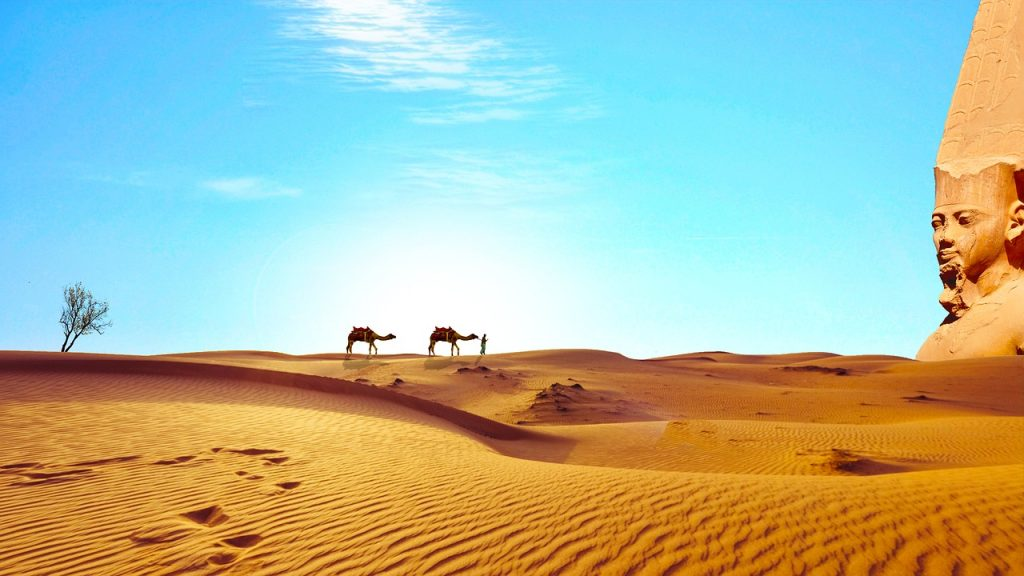 Egiptas lankytinos vietos